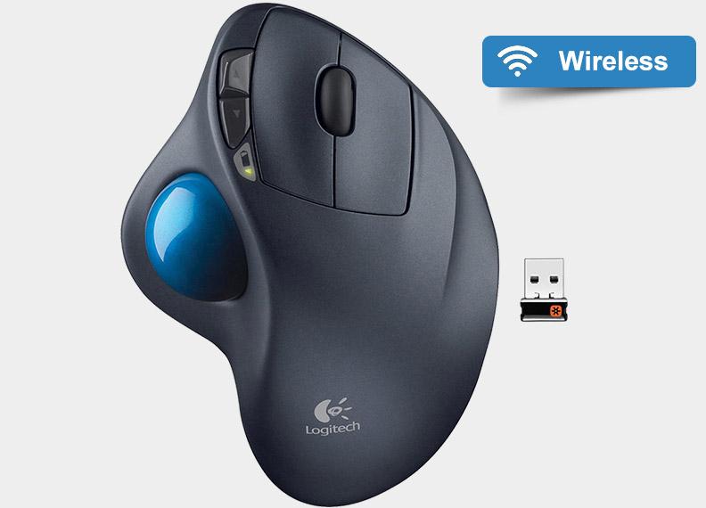 Беспроводная USB мышь Logitech M570 Wireless Trackball