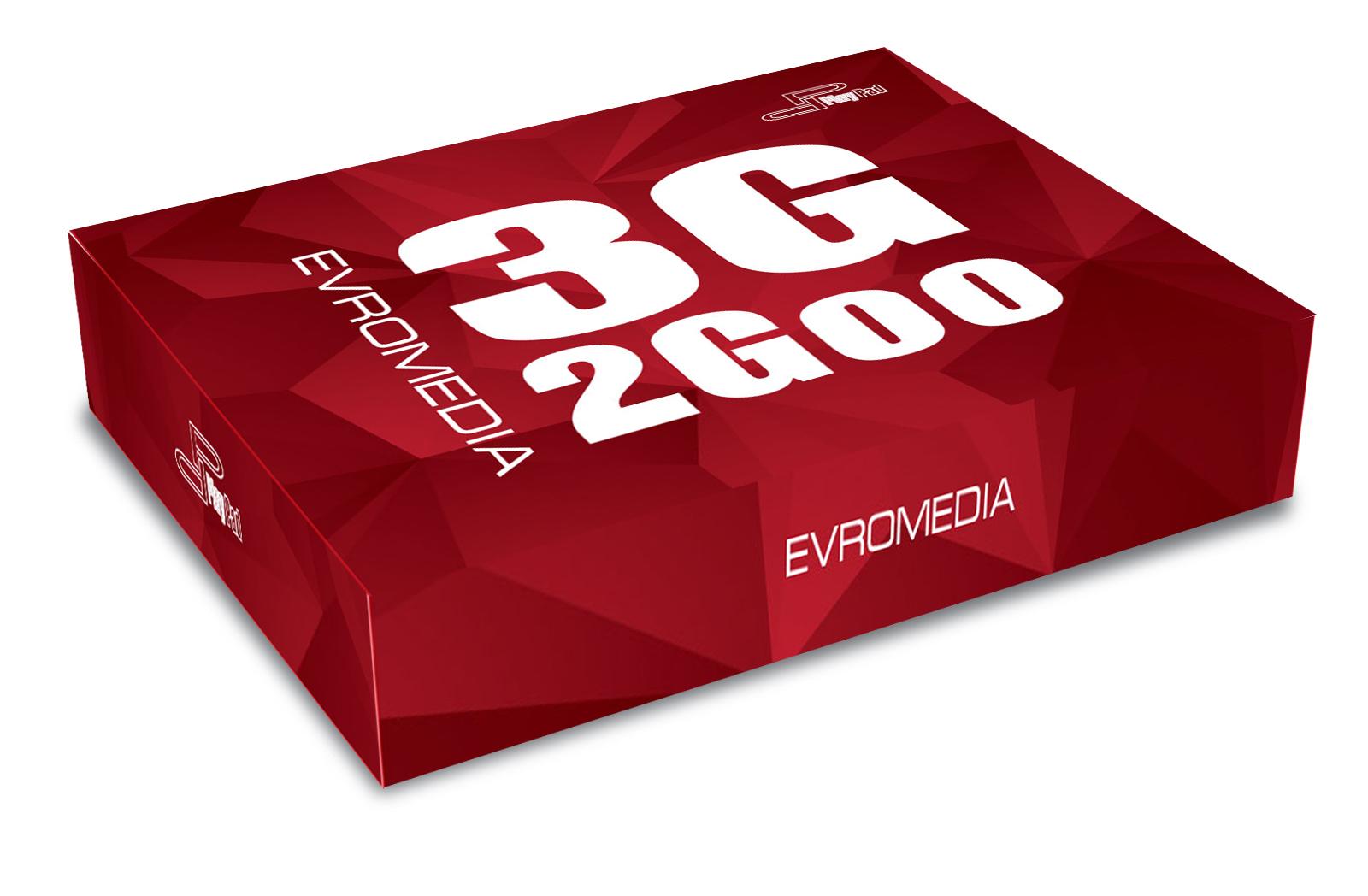 Планшет EvroMedia 3G 2Goo