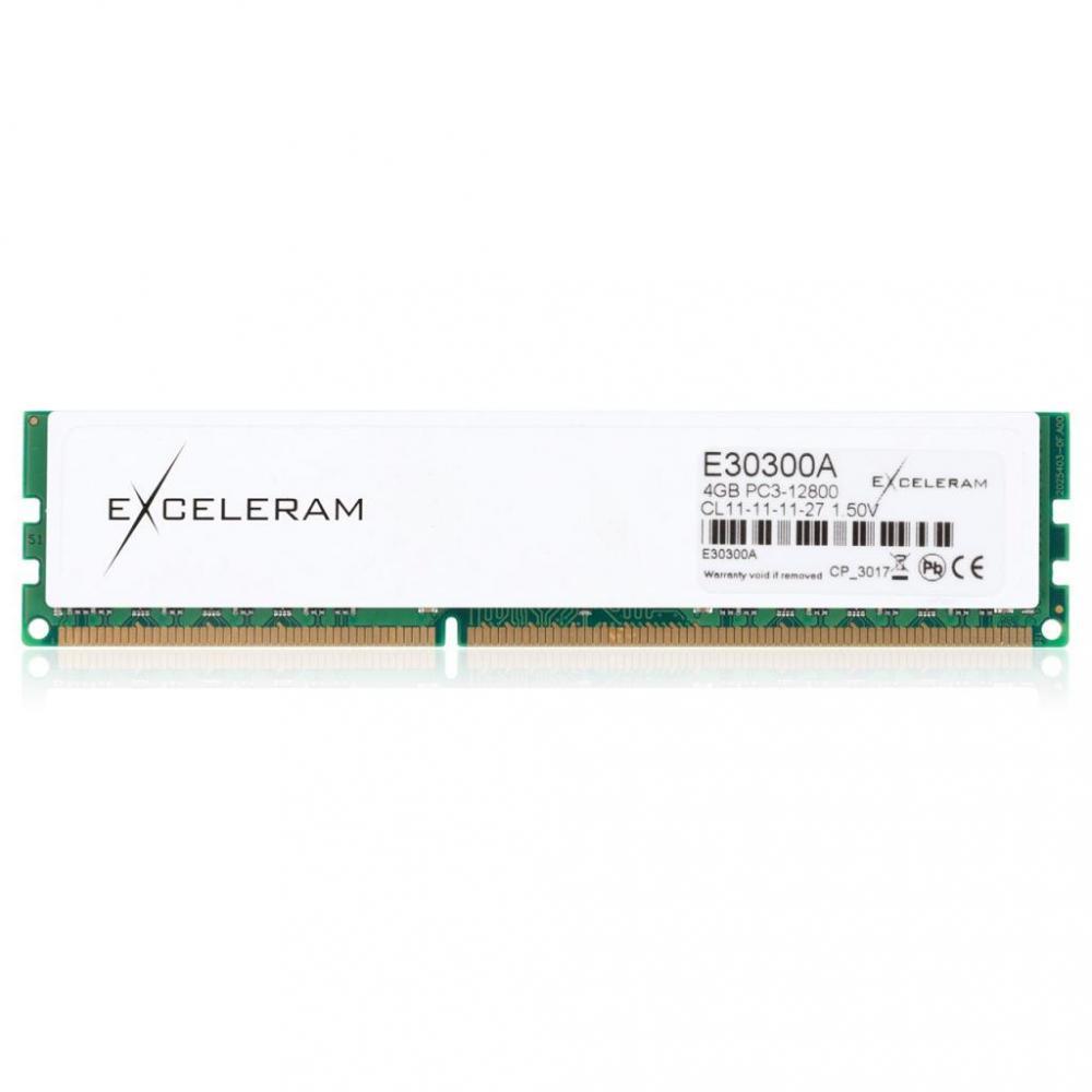 Exceleram 4 GB DDR3 1600 MHz (E30300A)