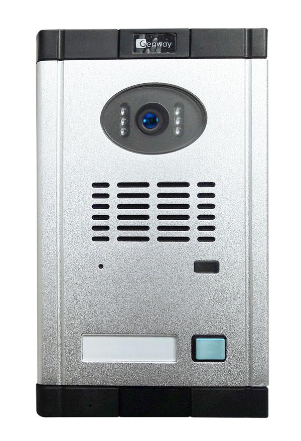 Вызывная панель домофона с камерой и подсветкой