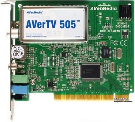 ТВ Тюнер PCI Model-505